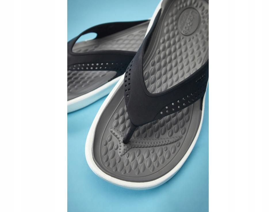 Crocs LiteRide Flip Black/Smoke 205182 (39/40 (M7)