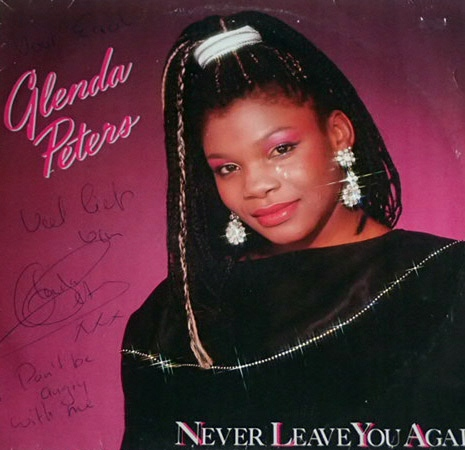 Glenda Peters - Never Leave ... (Lp) AUTOGRAF !!!