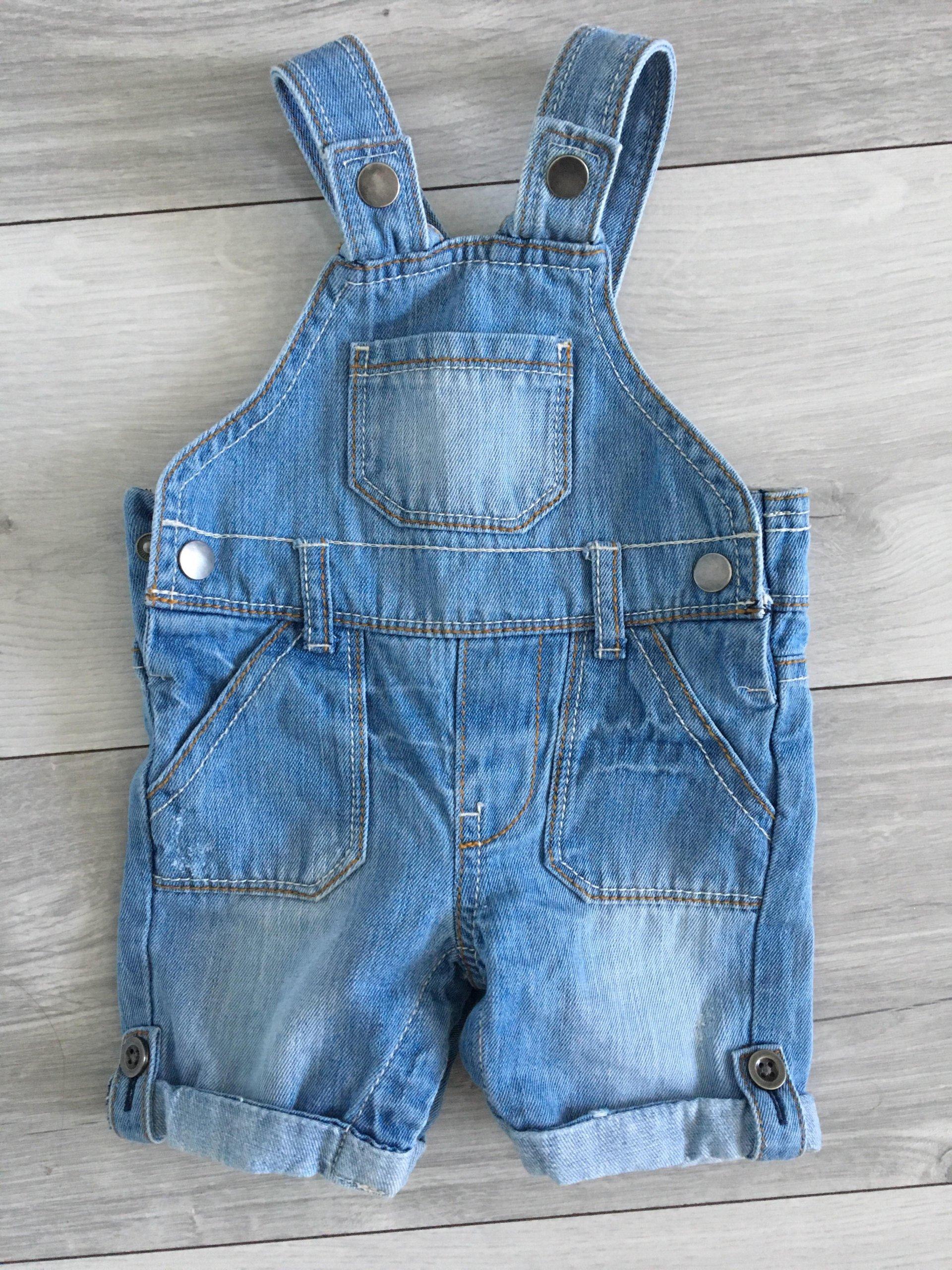 39f4c8ba Ogrodniczki jeansowe rozmiar 62 F&F - 7388768686 - oficjalne ...