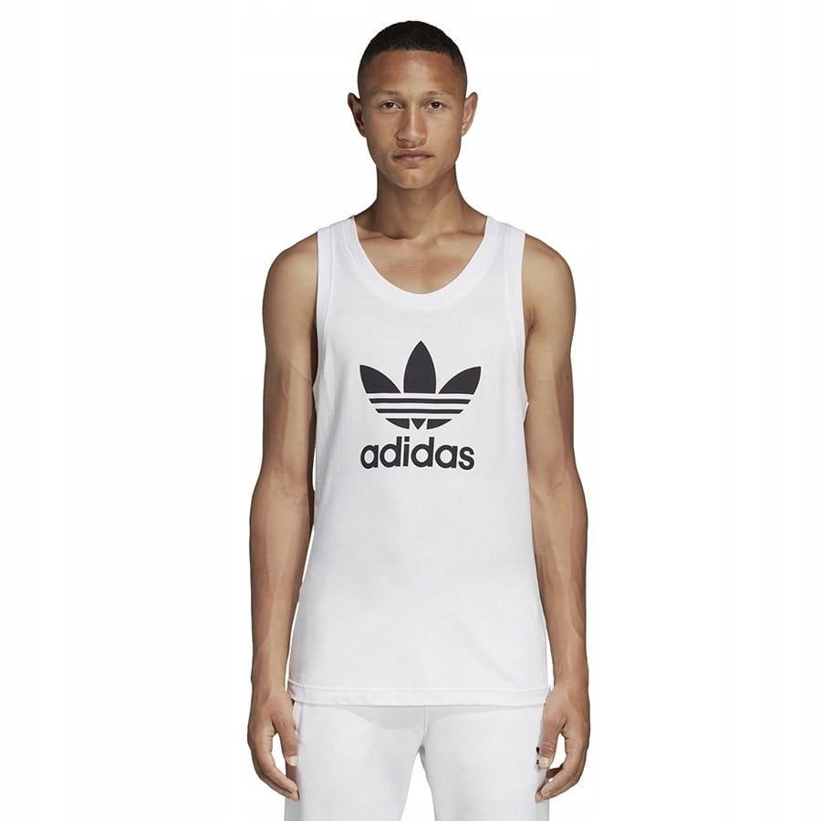 Koszulka adidas Originals Top Trefoil BIAŁY; S
