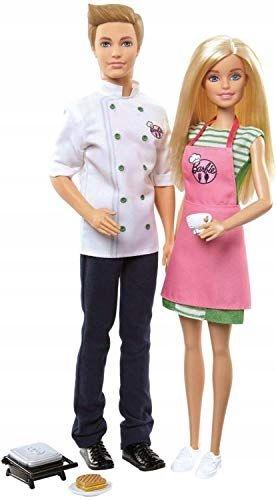 Barbie i Ken FHP64 LALKA ZESTAW KUCHNIA GOTOWANIE