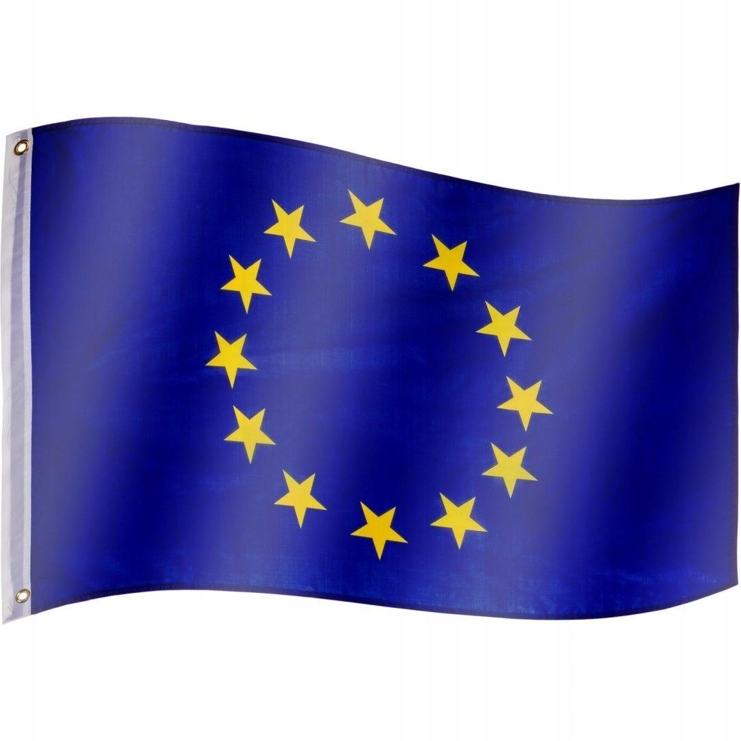 Flaga Unii Europejskiej 120x80 cm