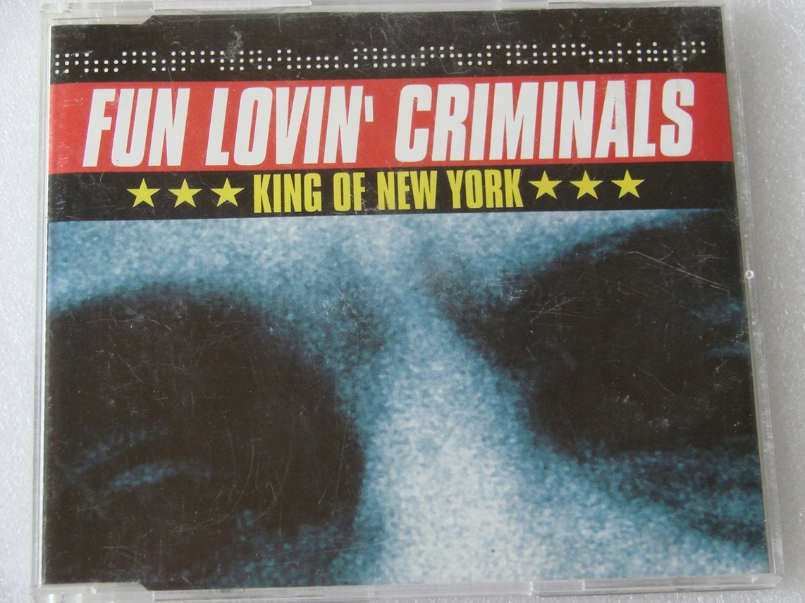 Fun Lovin' Criminals - King Of New York Singiel UK