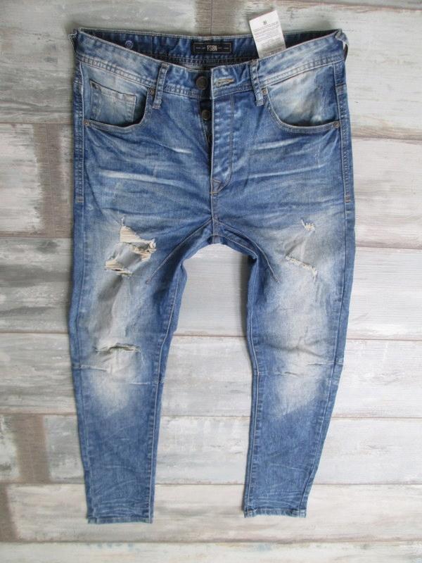 FISHBONE___RURKI jeans męskie___W32L30