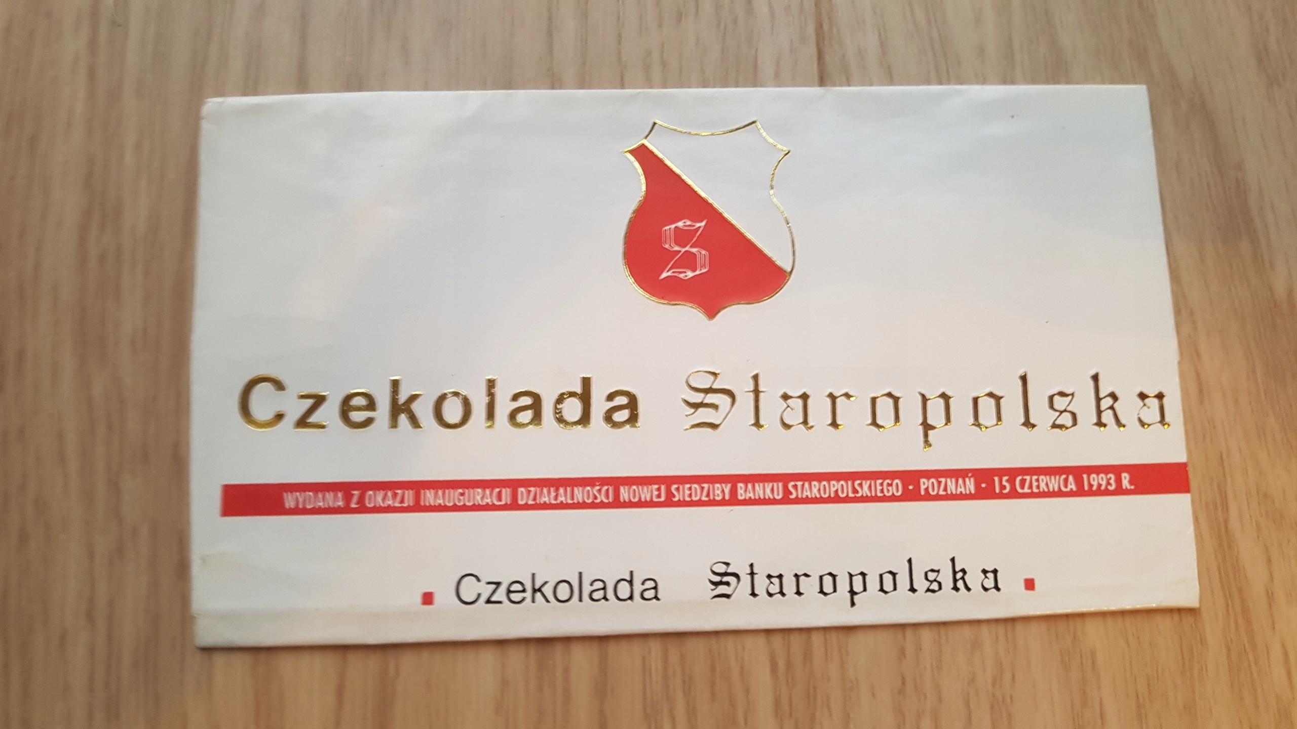 GOPLANA OPAKOWANIE CZEKOLADA STAROPOLSKA