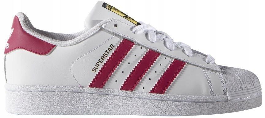 Adidas Buty dziecięce Superstar Foundation białe r