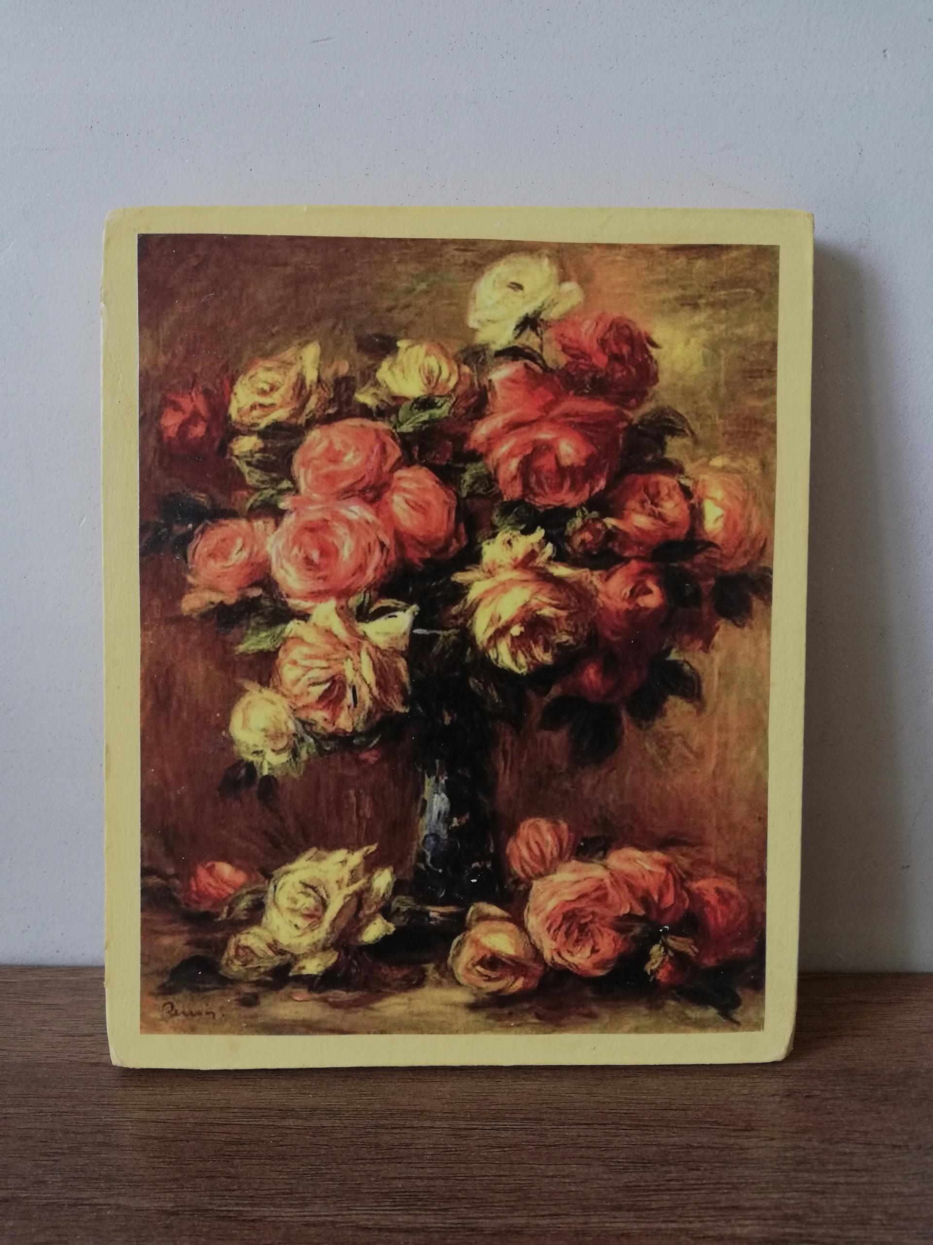 Obrazek Obraz Dekoracja Kwiaty Kwiatki Róże