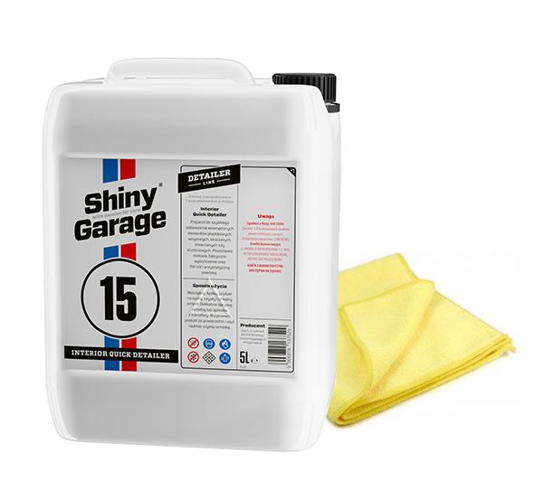 SHINY GARAGE QUICK DETAILER 5L do wnętrza