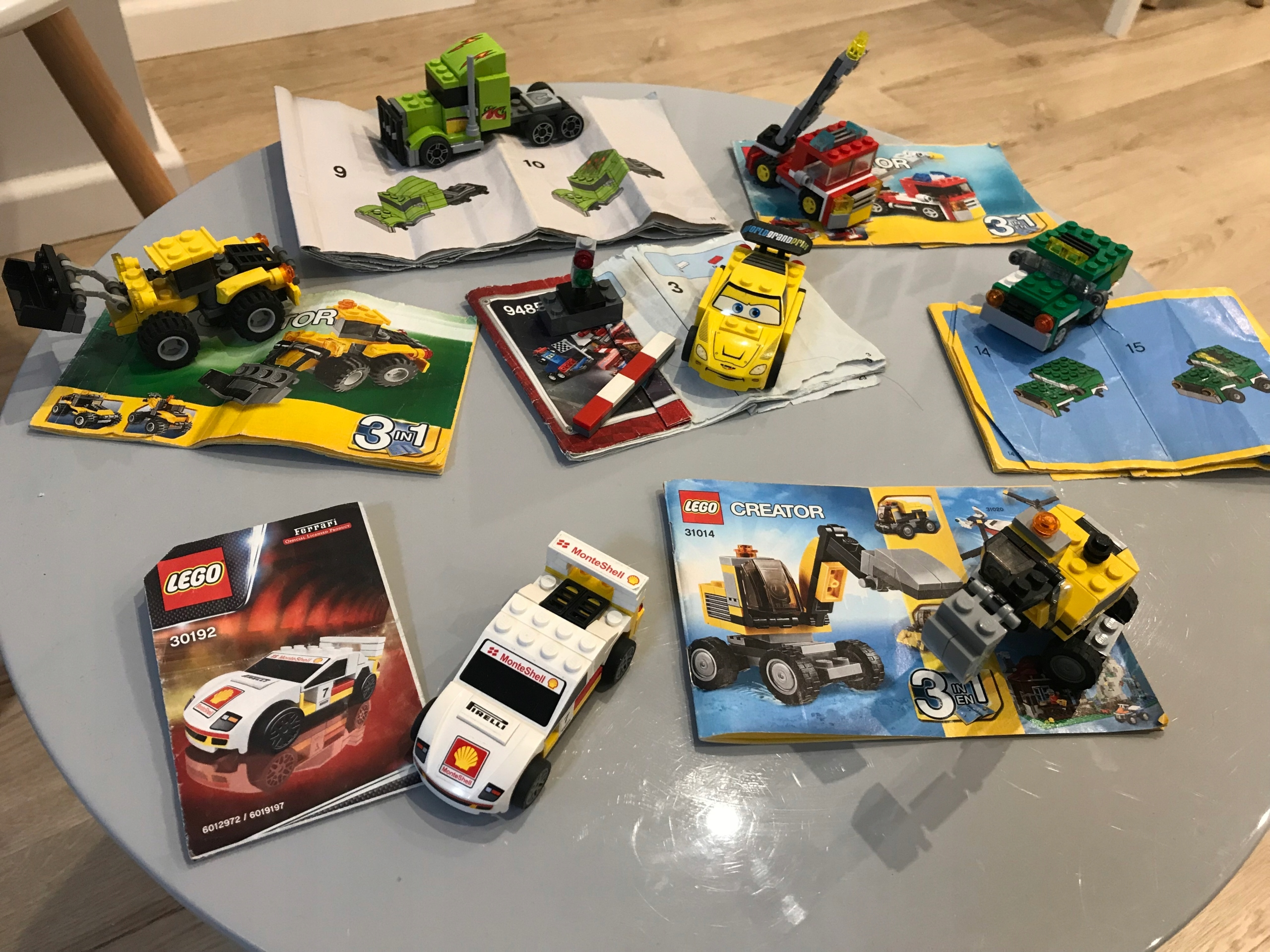 Klocki Lego City Creator Auta pojazdy unikat