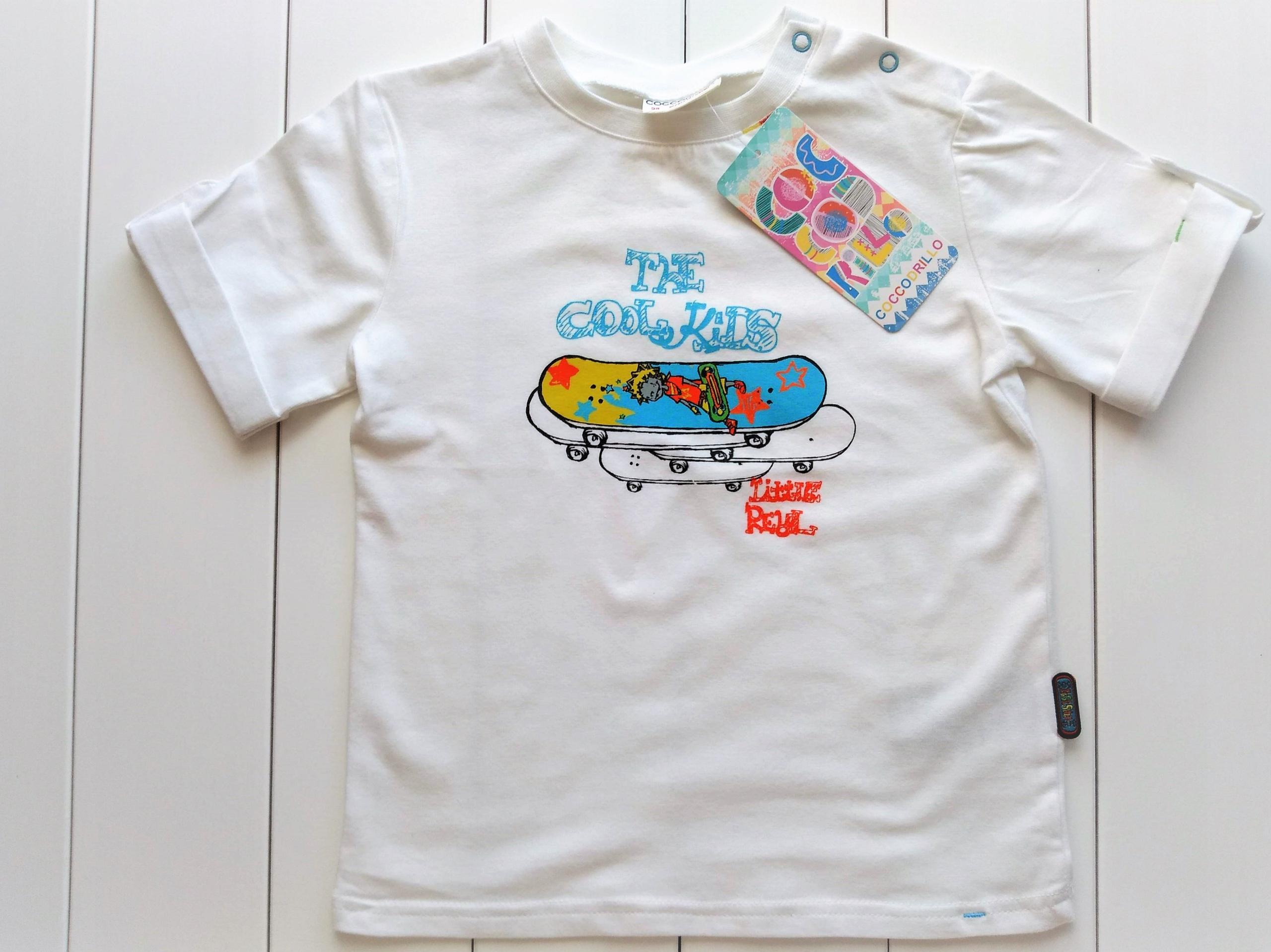 Chłopięcy T-shirt, koszulka r. 98 COCCODRILLO nowy