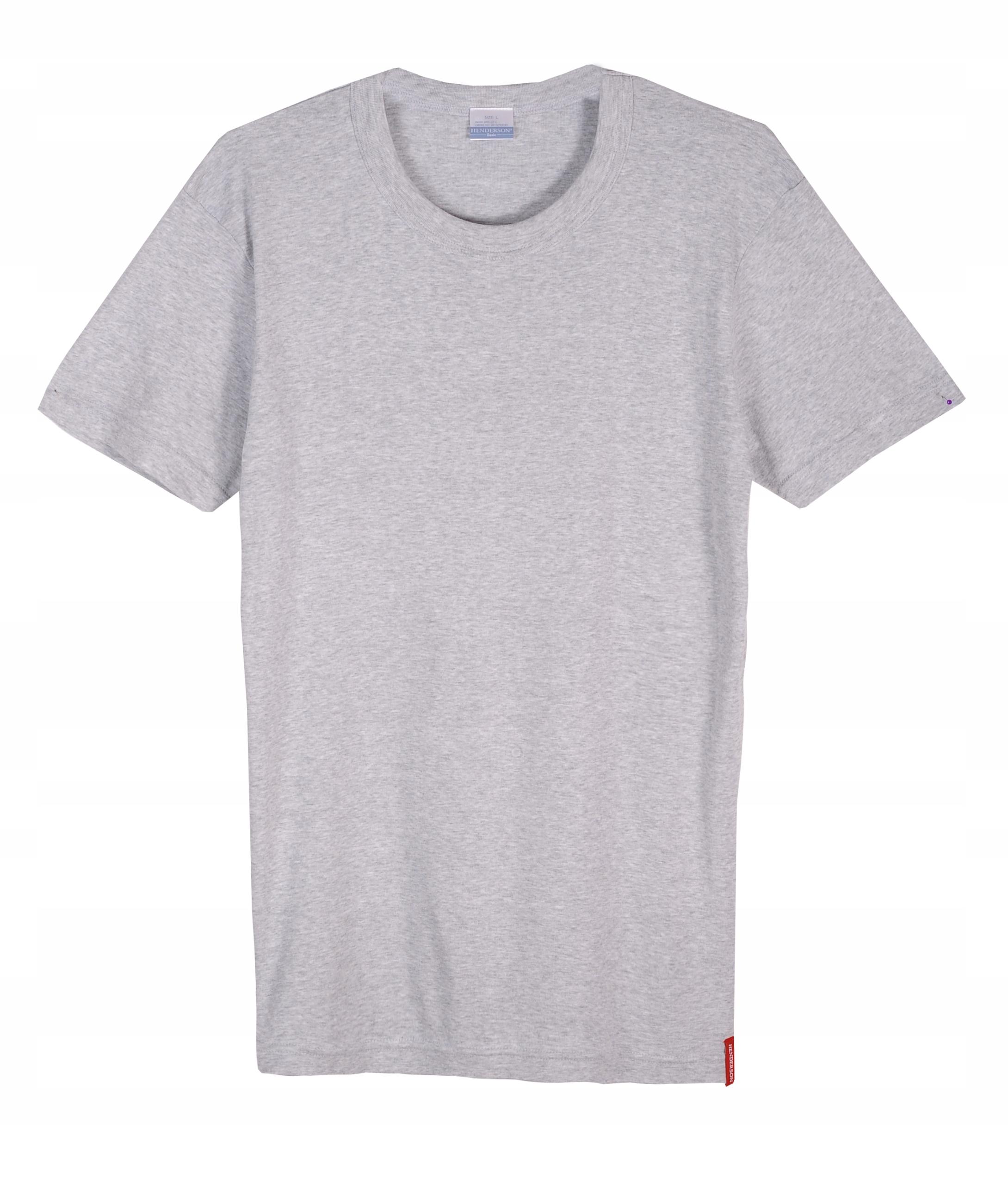 Podkoszulek Henderson Koszulka SZARA Bawełna XL