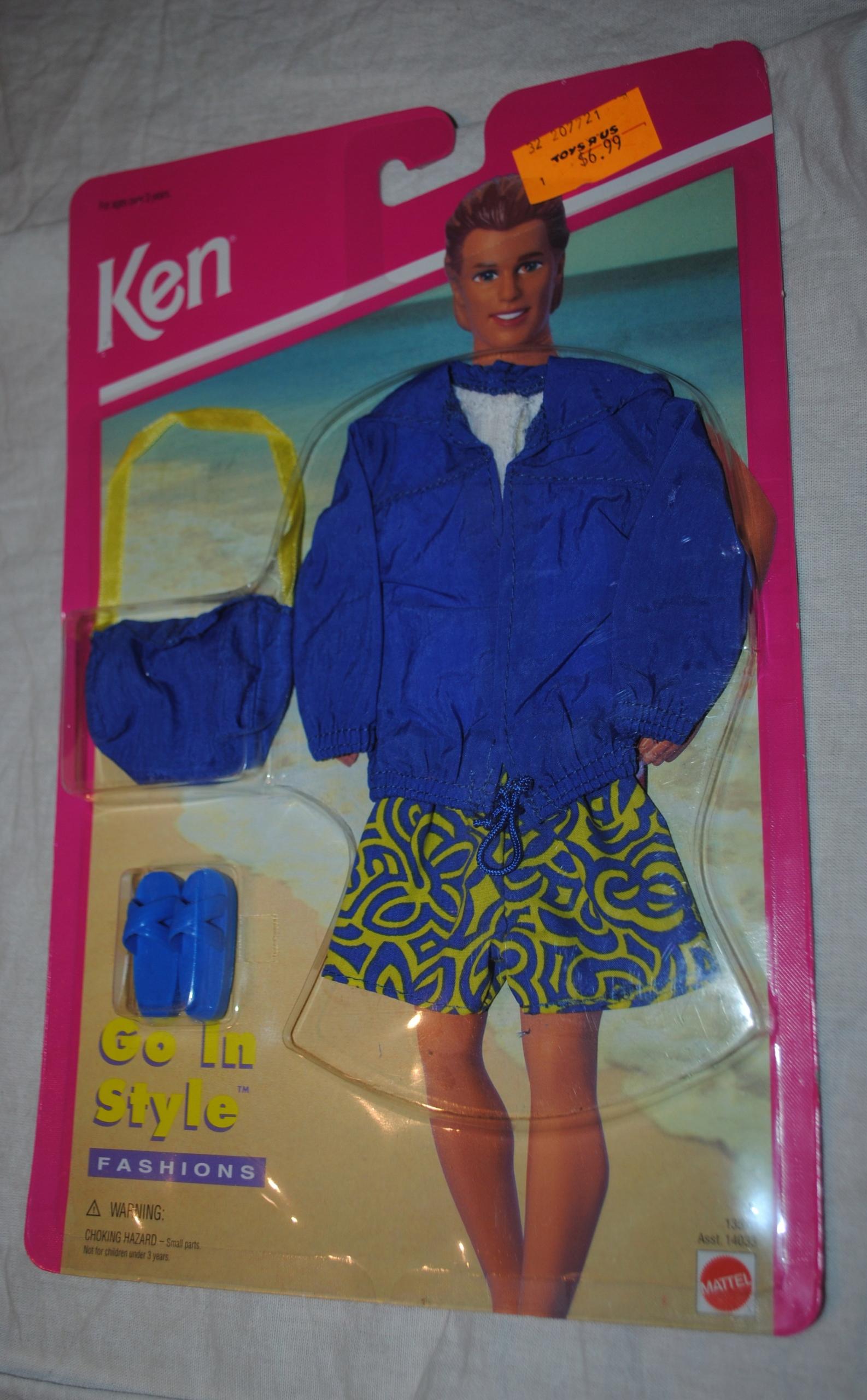 ubranko dla lalki barbie KEN 95 MATTEL GO IN STYLE