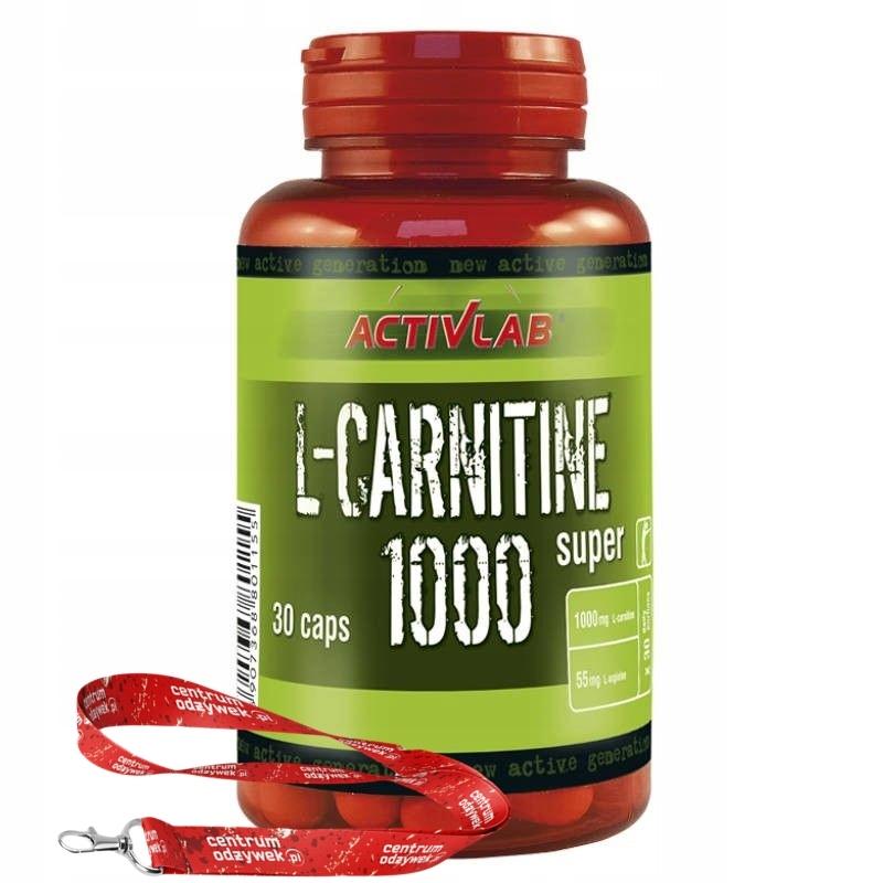 ActivLab L-Carnitine 1000 Super 30 kap ODCHUDZANIE