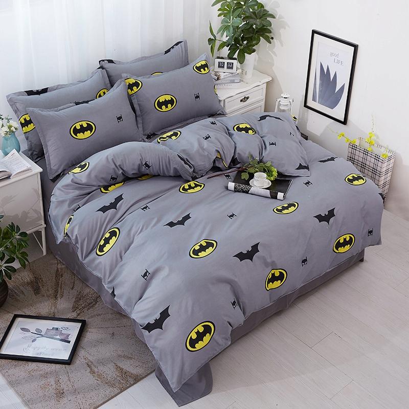 180 x 220 cm pościel z batmanem Batman 4 szt