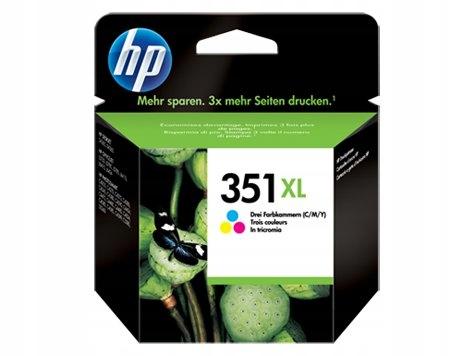 HP INC. Tusz nr 351 Kolor XL CB338EE