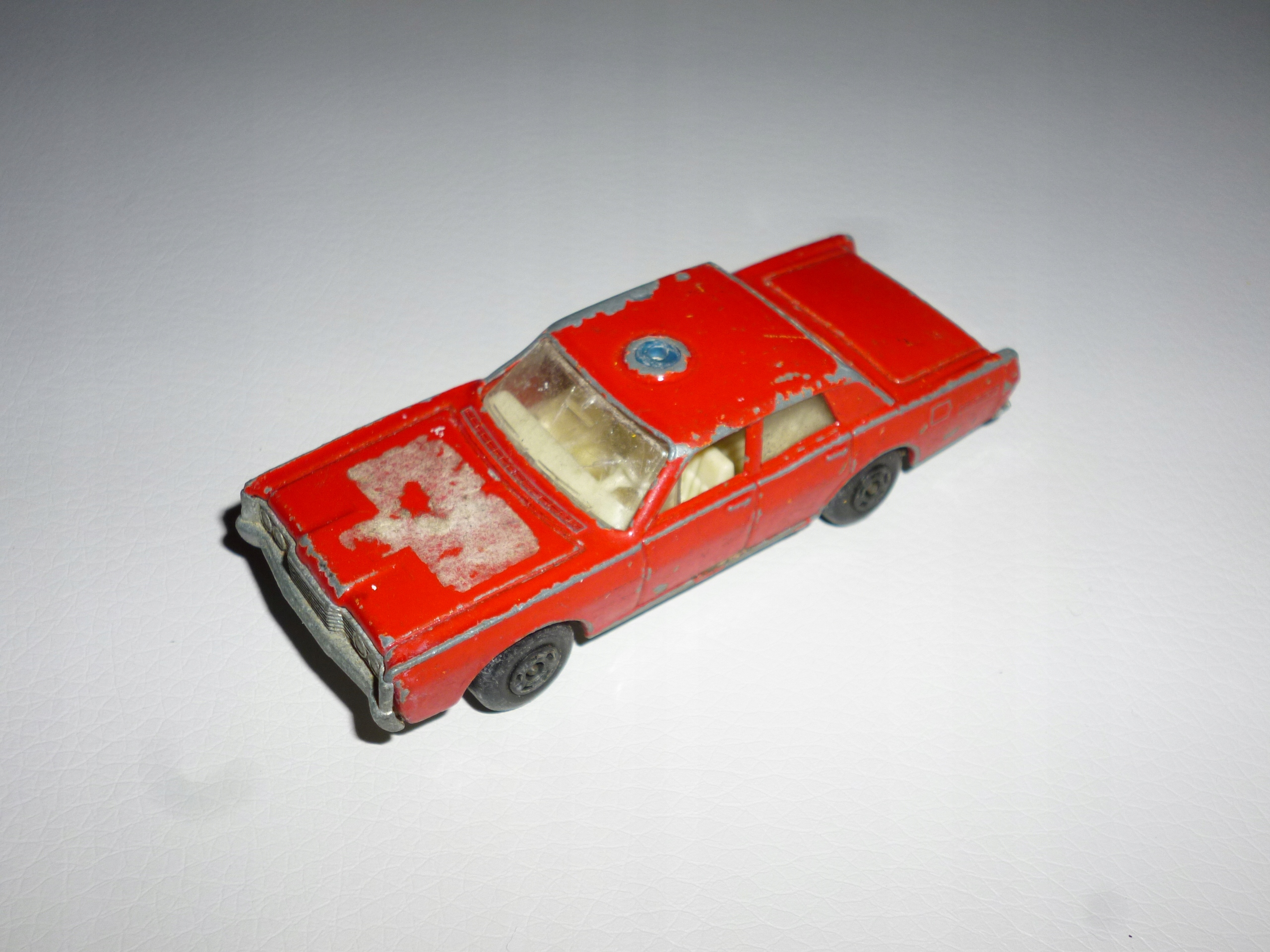 Mercury Fire Matchbox model resorak autko