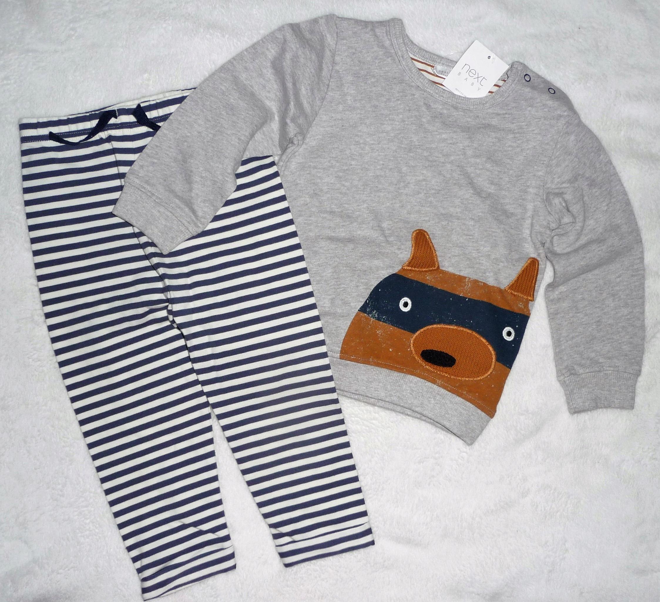 Next nowy kpl bluza i spodnie 12-18m-cy 86cm