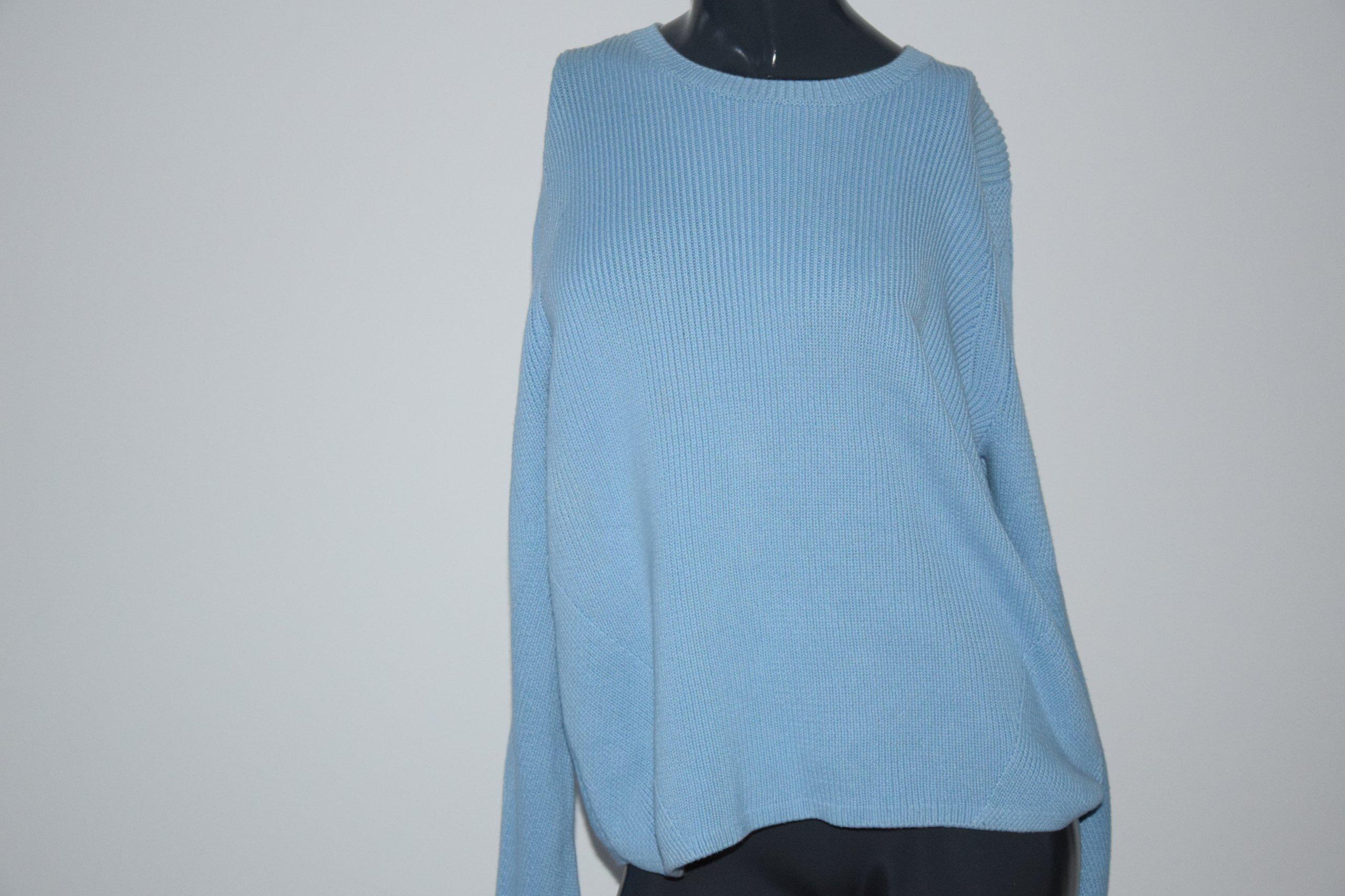 cos niebieski sweter bawełna M/38