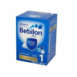 BEBILON 1 z PRONUTRA+ MLEKO 1200g + gratis __UOPAK