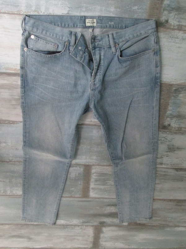 RIVER ISLAND____męskie jeans RURKI___W34L30 34/30