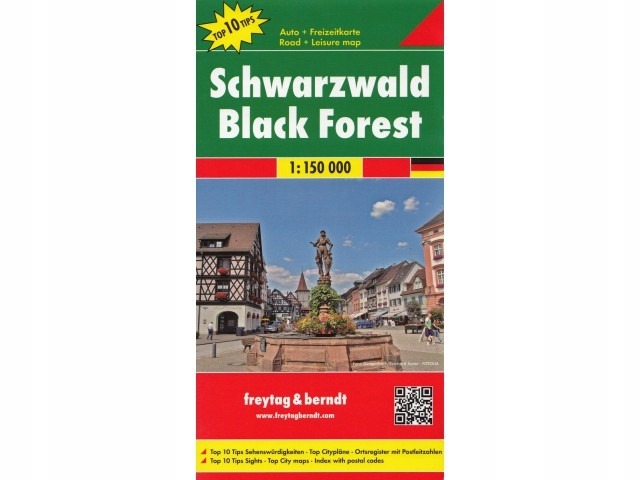 Freytag Berndt Schwarzwald 1:150T mapa samochodowa