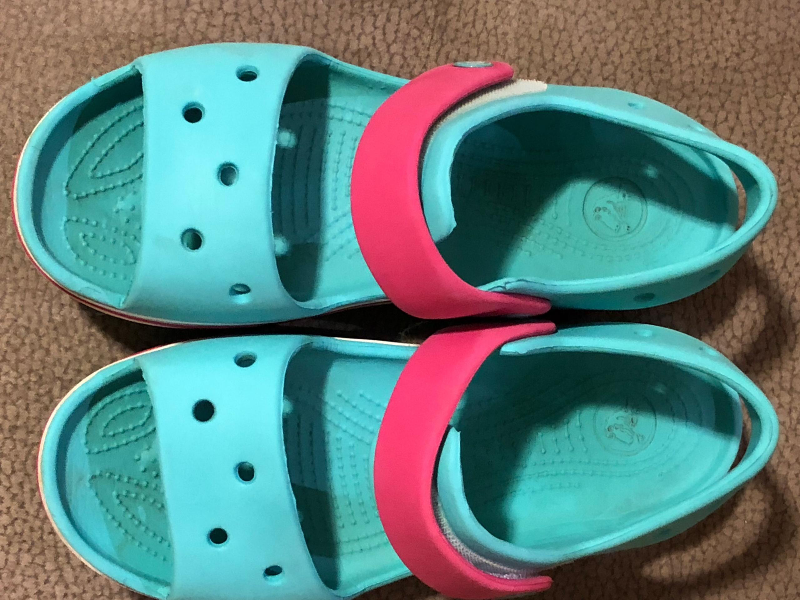 Sandałki CROCS J3 34-35 dla dziewczynki