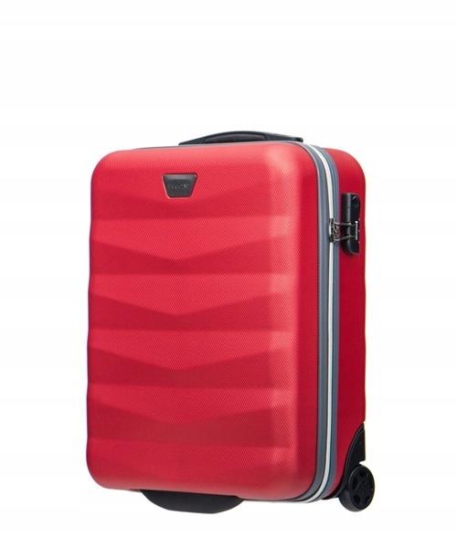 158e41291f0ad Mała walizka PUCCINI ABS05 C Majorca czerwona - 7470816353 ...