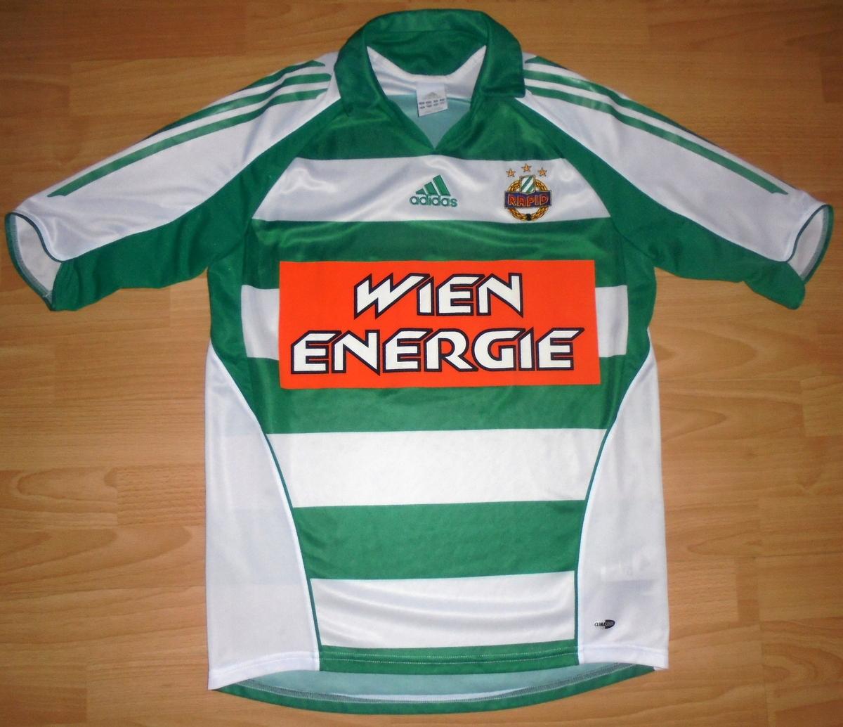 Koszulka Rapid Wiedeń Adidas S/M 2006/07