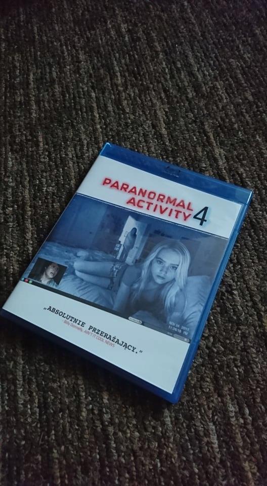 Paranormal Activity 4 Blu-ray