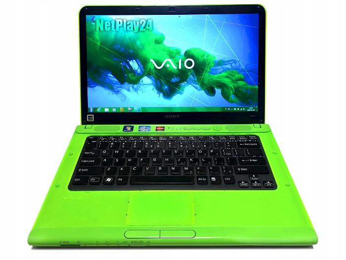 Laptop Sony VAIO i3 Podświetlana klawiat 500GB ATI