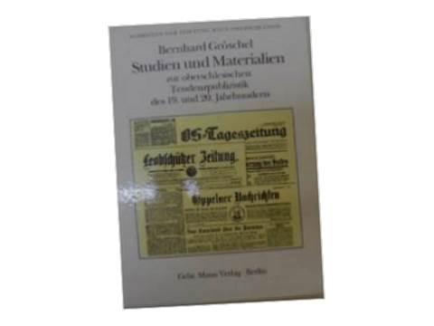 Studien und Materialien - B. Groschel1993 24h wys