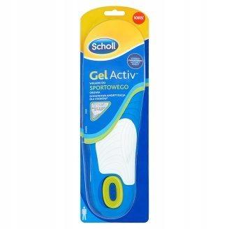 Scholl GelActiv wkładki do sportowego obuwia (męsk