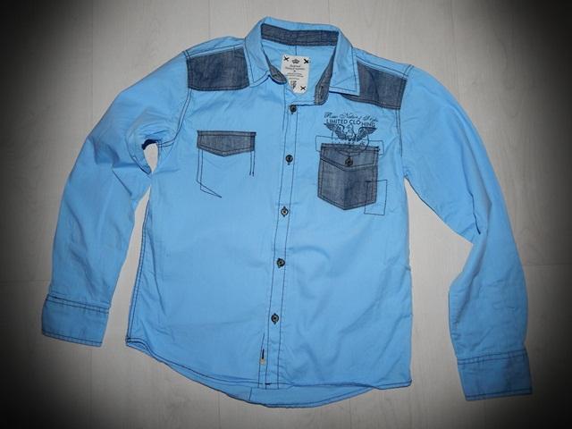 Niebieska Koszula KAPPAHL r 140