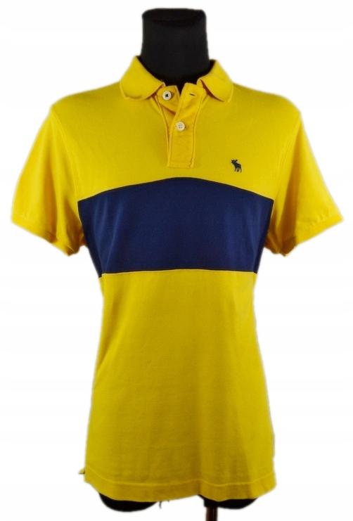ABERCROMBIE & FITCH Koszulka Polo JAK NOWA XL