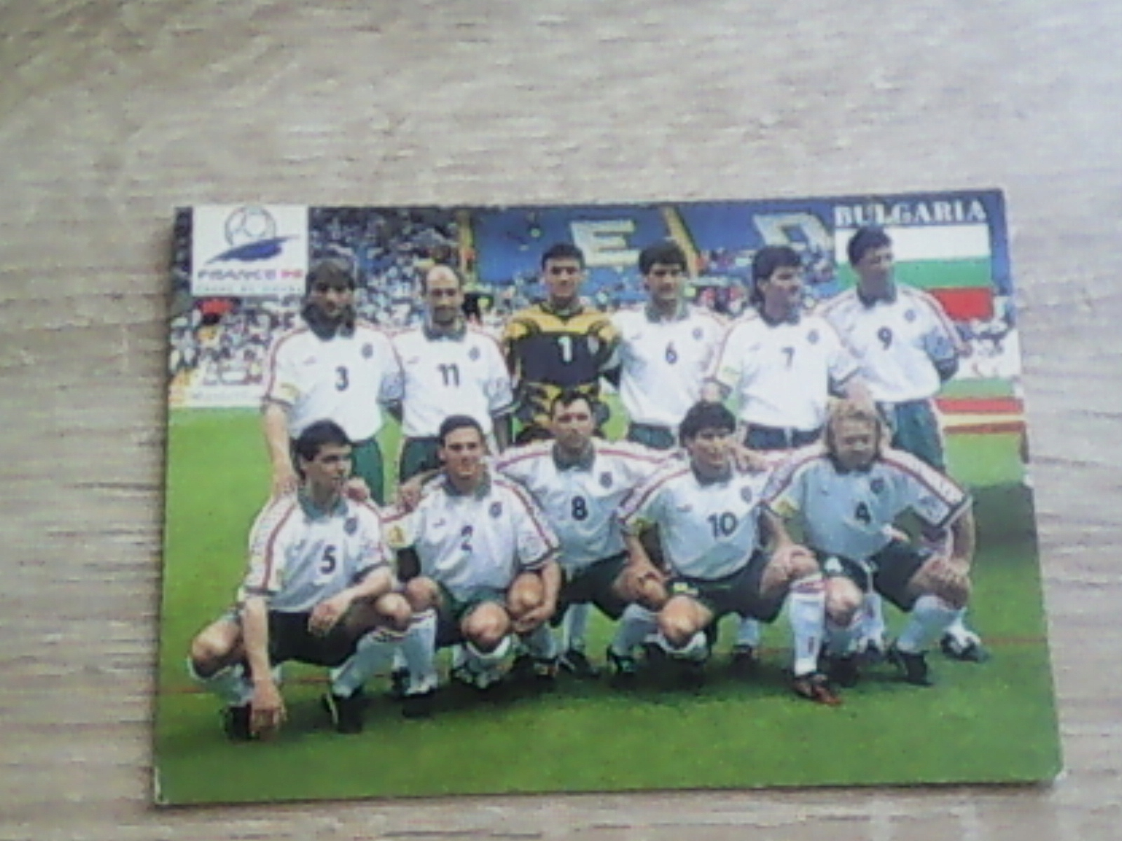 Piłka nożna - fotos zespołu Bułgaria