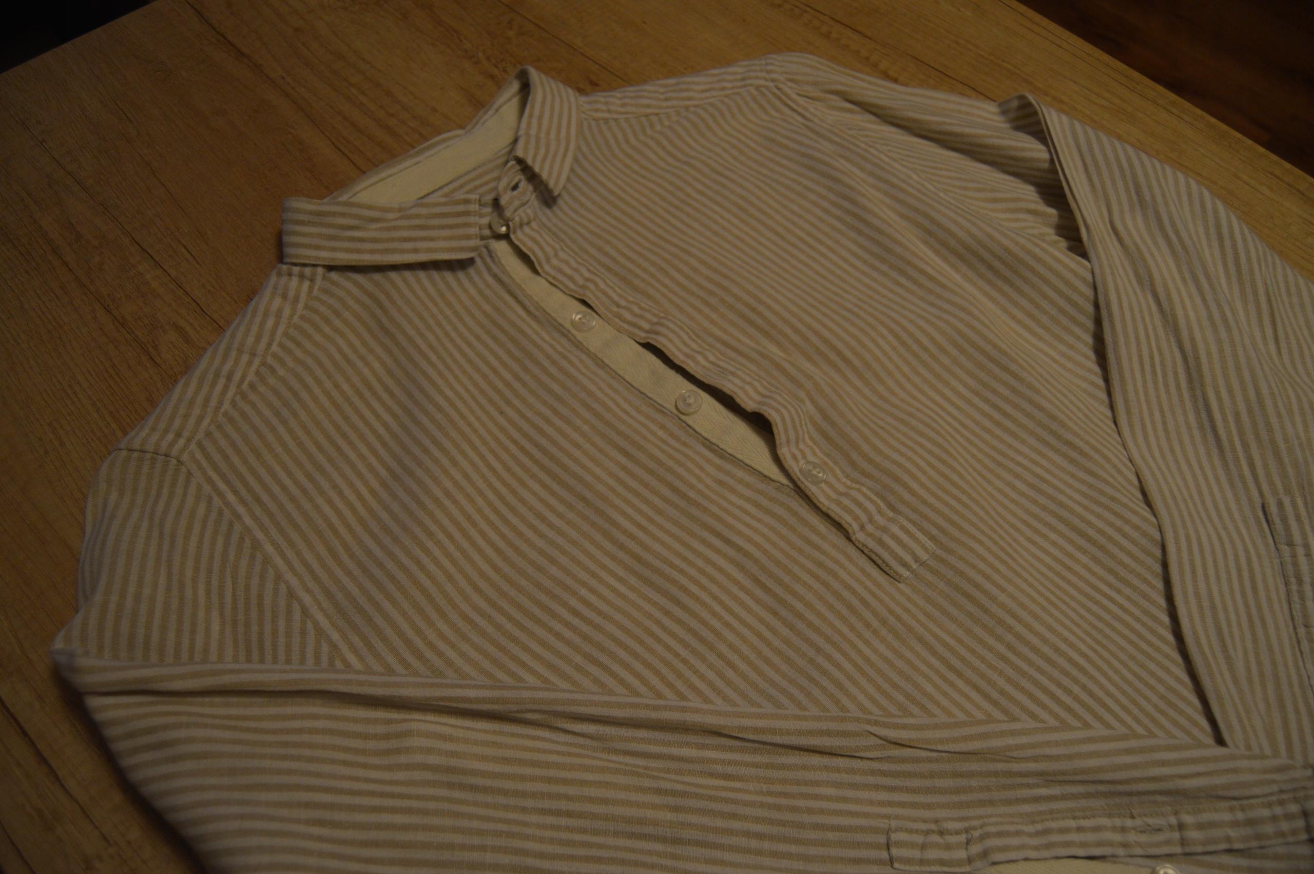 Koszula ekologiczna H&M SUPER OKAZJA BDB STAN