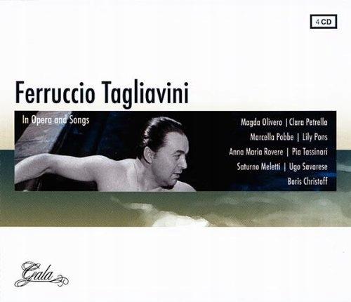 CD Tagliavini, Ferrucio - In Opera And Songs Masca