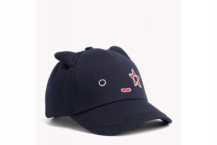 GRANATOWA CZAPKA TOMMY HILFIGER MASCOT CAP S/M