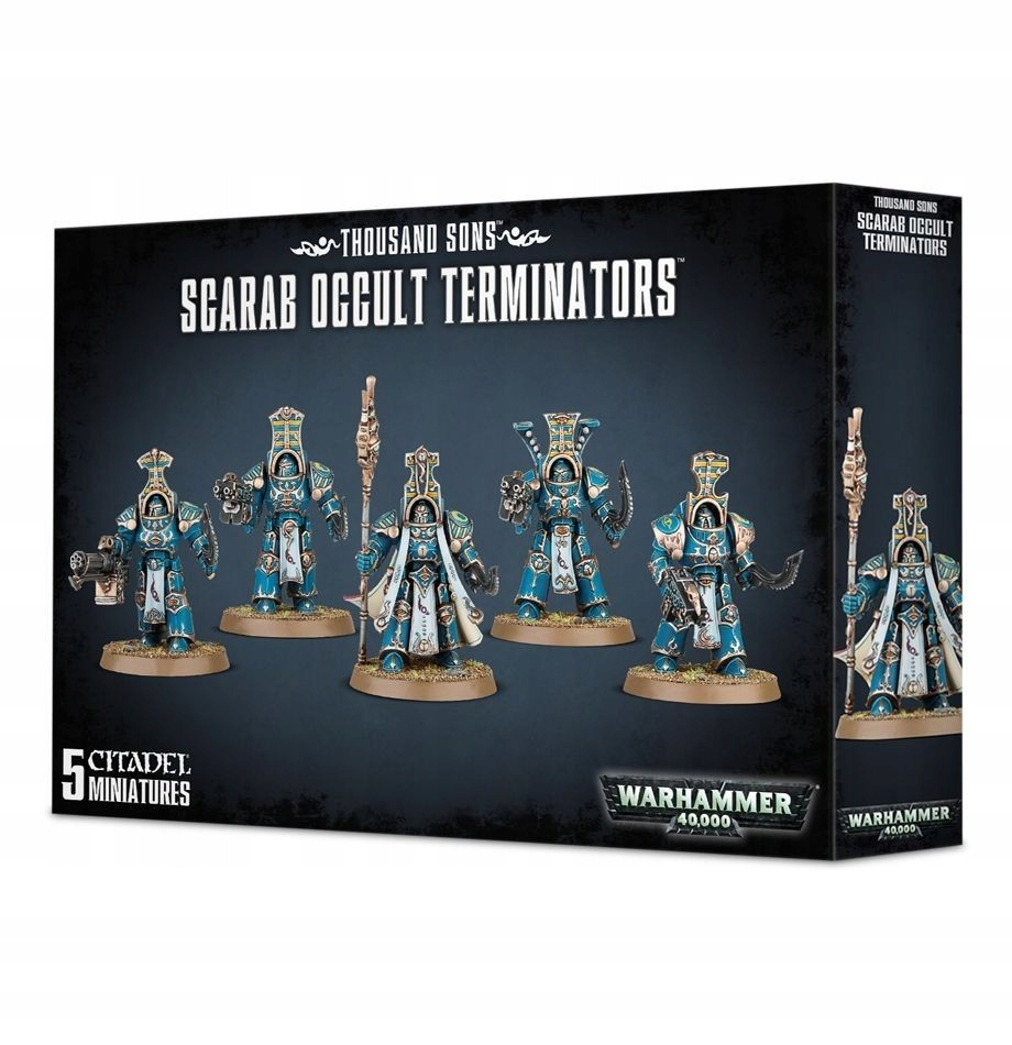Thousand Son Scarab Occult Terminators / WH 40k