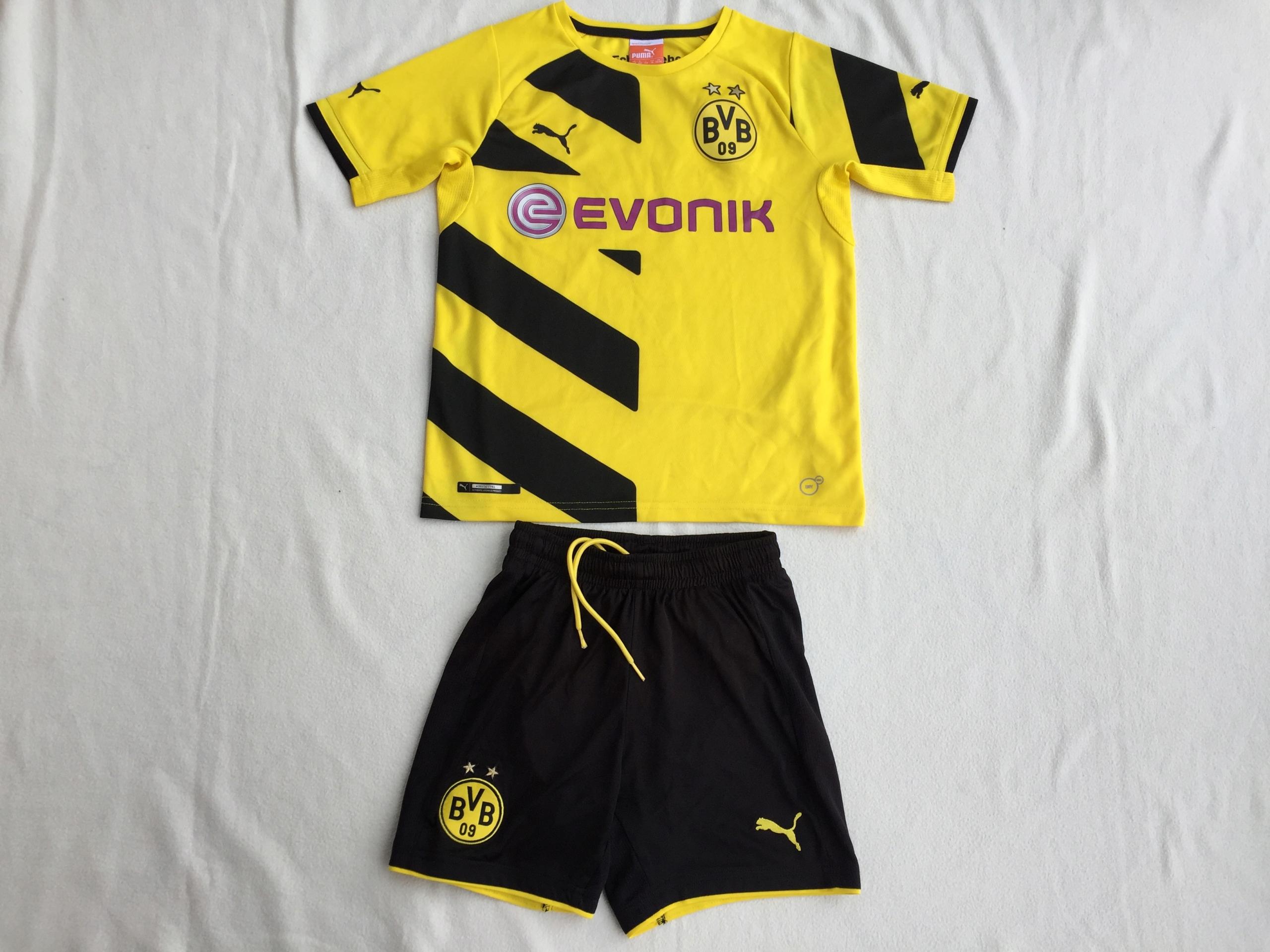 Strój piłkarski Borussia Dortmund-Puma-na 140 cm