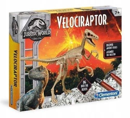 Zestaw edukacyjny Jurassic World Velociraptor