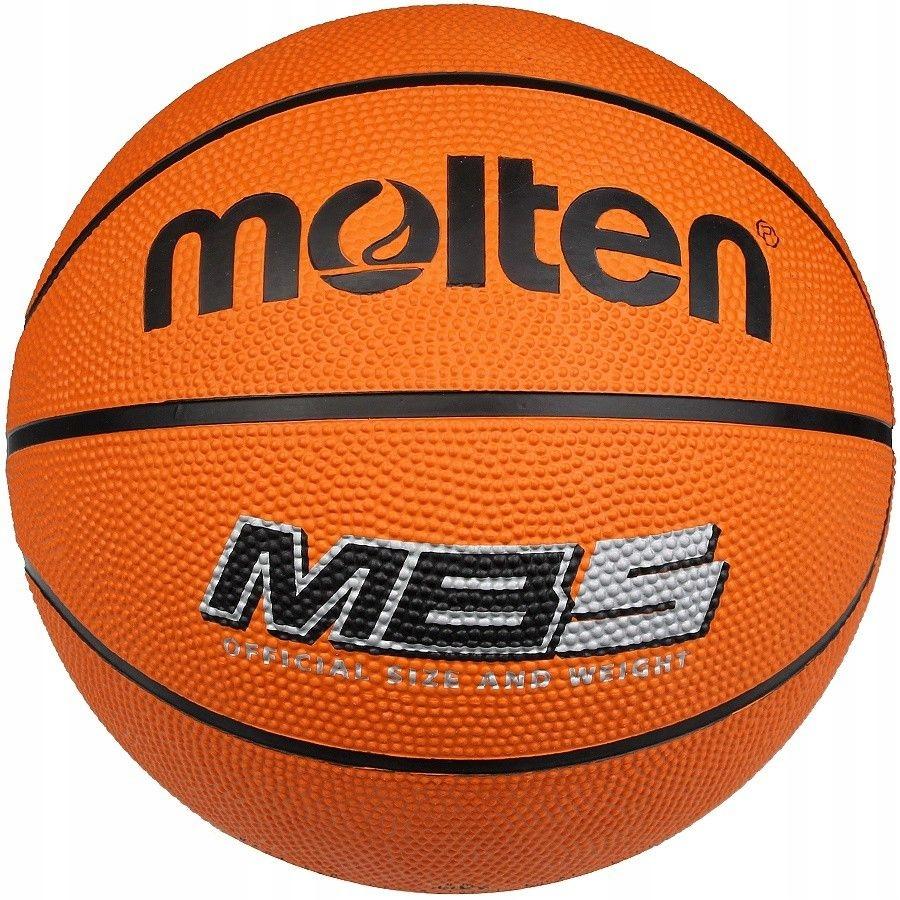 Piłka koszykowa Molten MB5 - POMARAŃCZOWY; 5