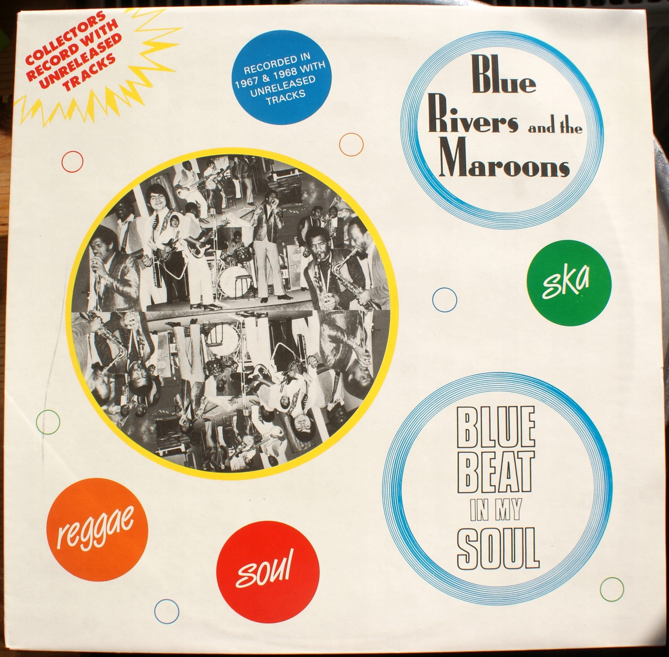 Blue Rivers & The Maroons-Blue Beat In My Soul