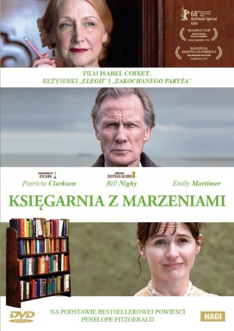 Księgarnia z marzeniami, DVD - Isabel Coixet