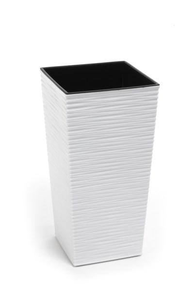 Doniczka Lamela Finezja Dłuto Biały 19x19x36cm 7222126856
