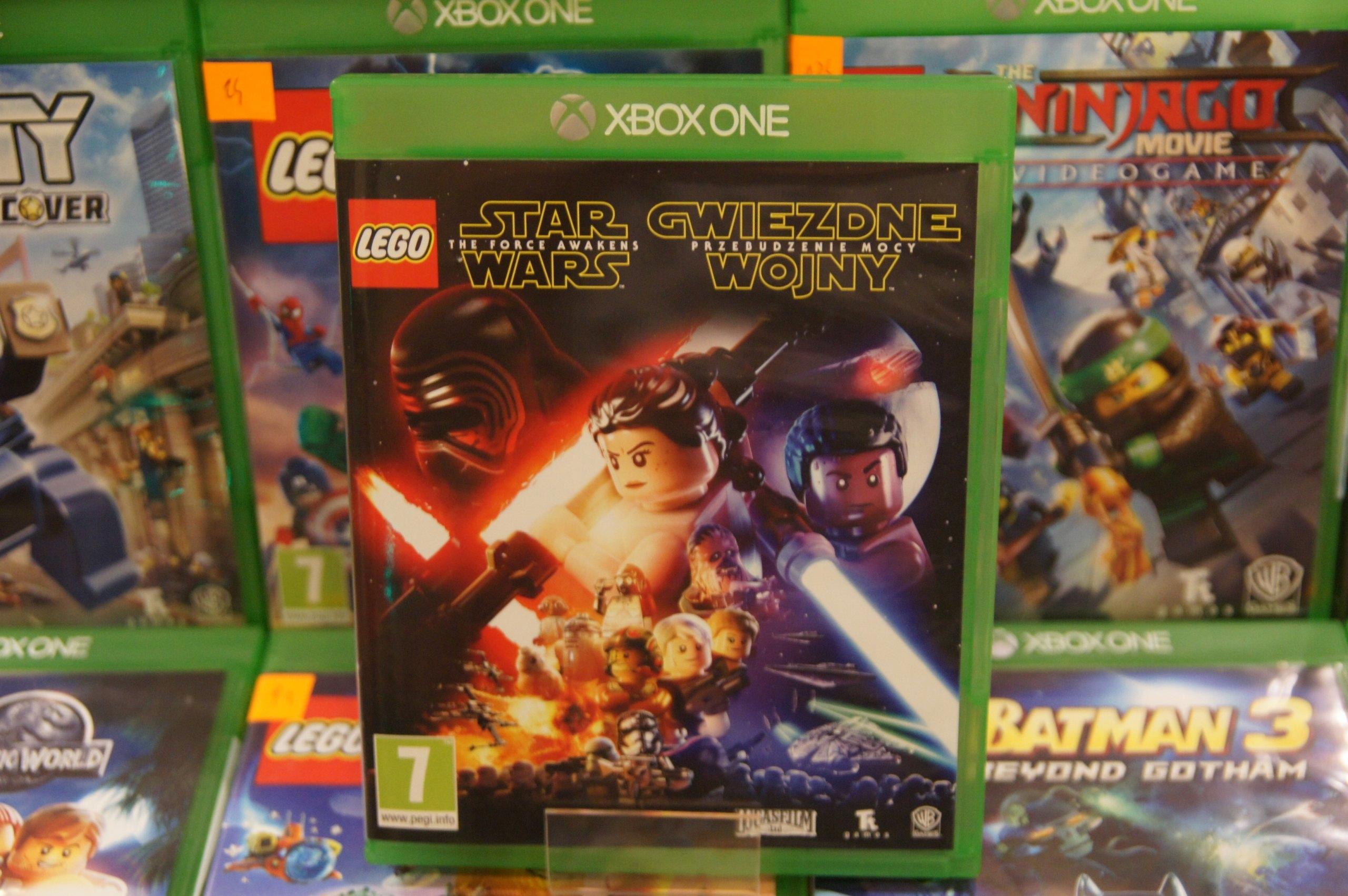 Xbox One Lego Star Wars Przebudzenie Mocy Pl 7358949652
