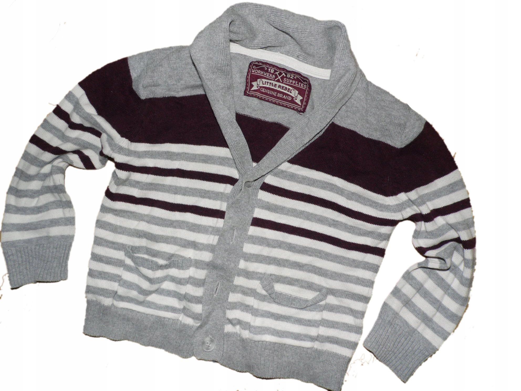 sweter z dzianiny 92 stan bdb wyprzedaż
