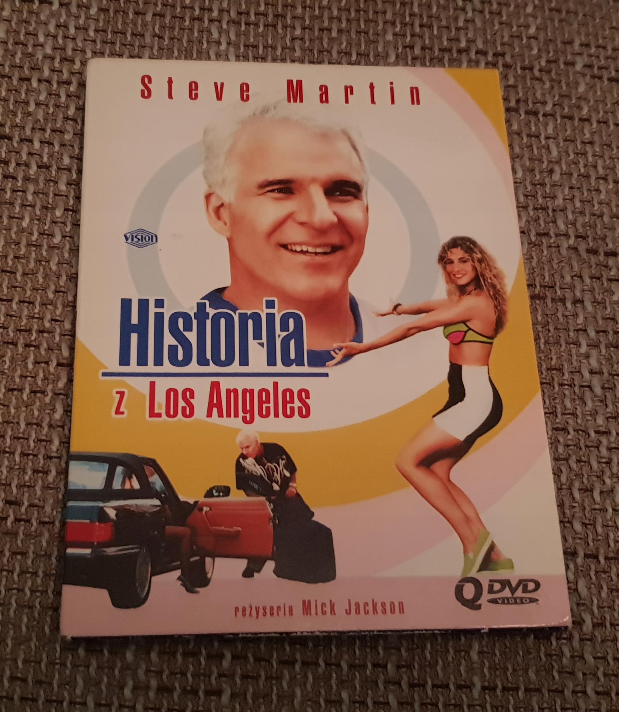HISTORIA Z LOS ANGELES DIGIPAK WYPRZEDAŻ FILMÓW