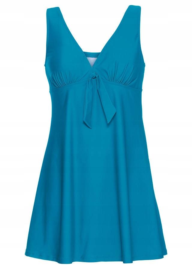 Sukienka kąpielowa zielony 42 XL 909925 bonprix