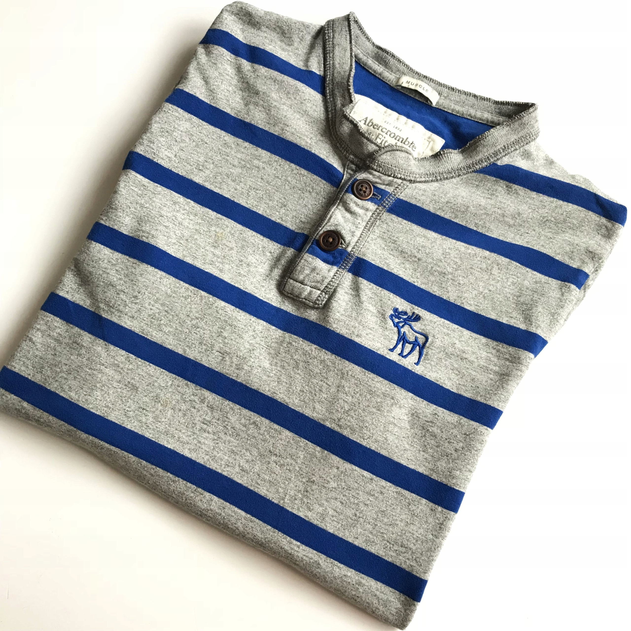 ABERCROMBIE & FITCH _ MUSCLE _ T-SHIRT _ L